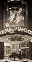 The marquee of Jordan Music