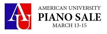 American University Piano Sale