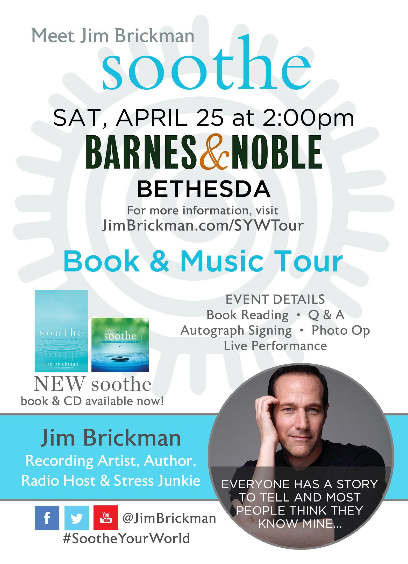 Yamaha Artist Jim Brickman at Barnes & Noble in Bethesda