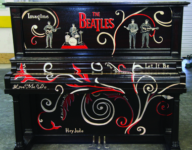 Signed Beatles Piano fetches $98,000 at charity auction…