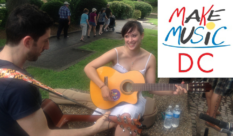 Make Music Day is coming to Washington DC on June 21st!