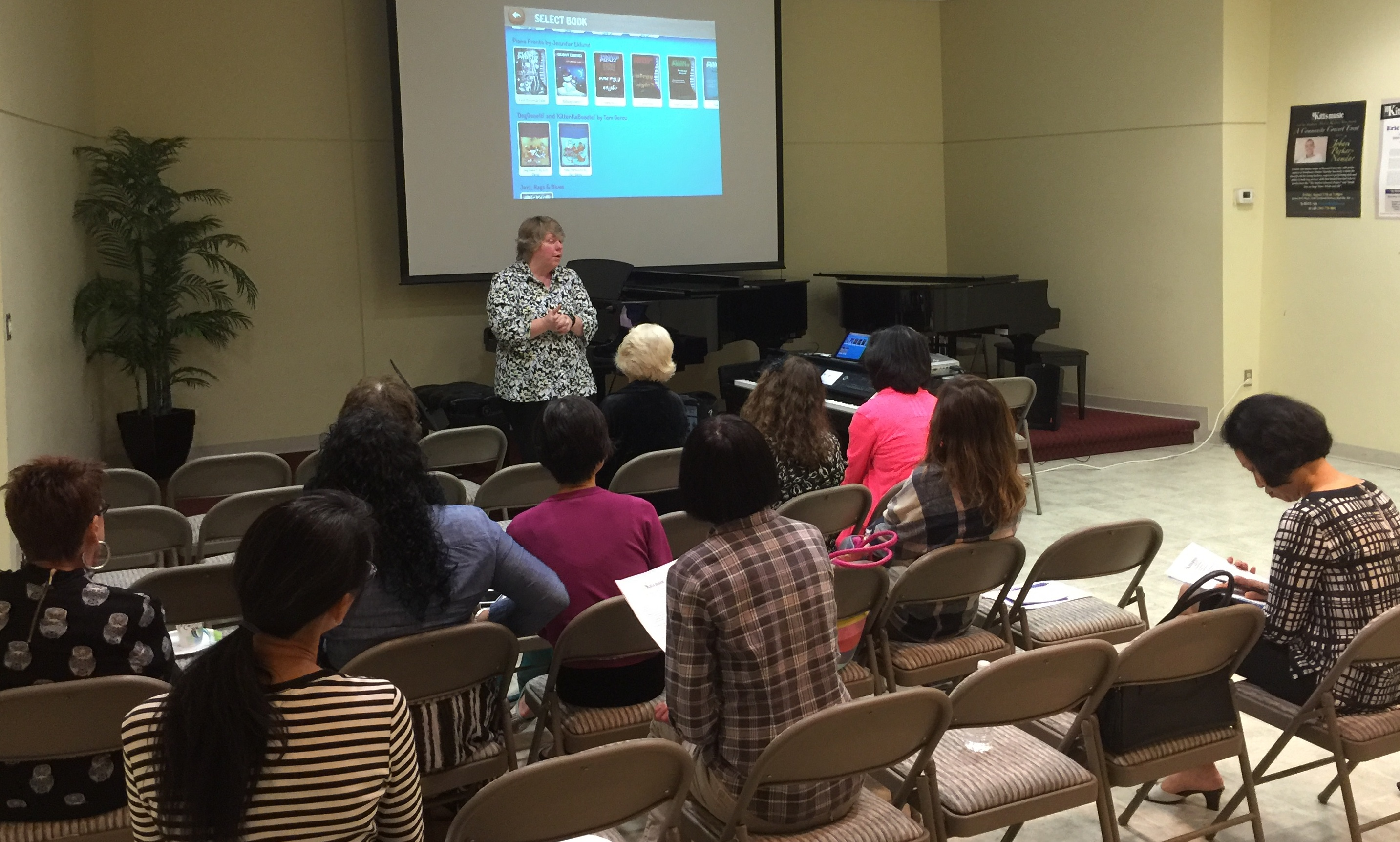 Jordan Kitt's hosts Teacher Workshop on Technology