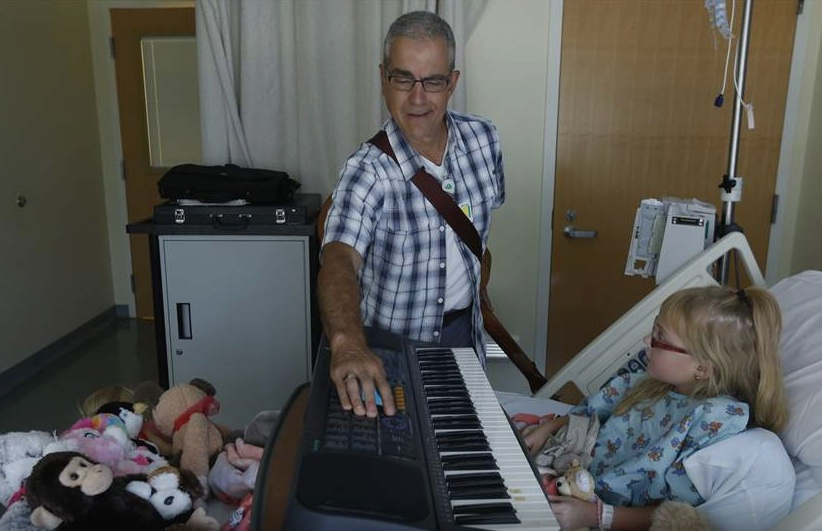 Music therapy helps children, families cope with illness