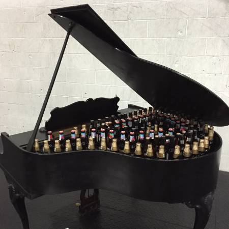 Keep em cool in this grand piano