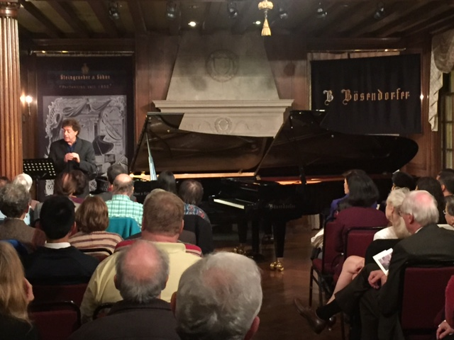 Jordan Kitt's goes to Strathmore for Europe's Finest Pianos Concert & Show