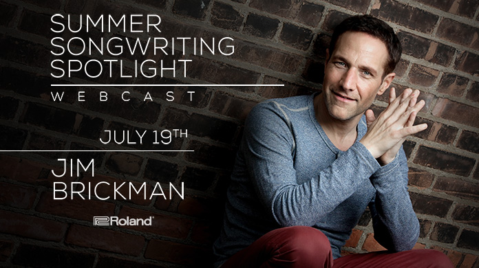 Live Webcast with Jim Brickman
