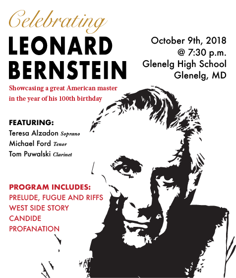 A concert tribute to Leonard Bernstein by Maryland Winds
