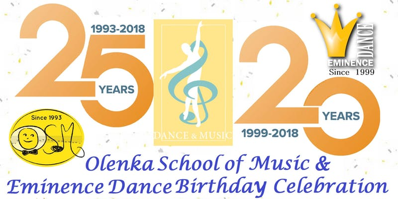 20th Year Celebration for the Olenka School of Music