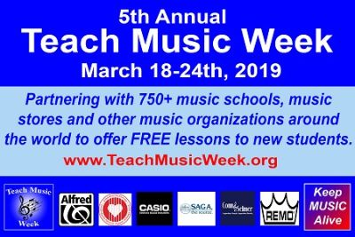 It's International Teach Music Week!