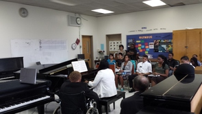 Five Yamaha Disklaviers Arrive at DC Public Schools!